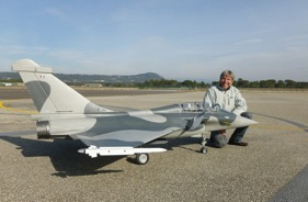 Kit RAFALE 1/5 ARTHUR BOCHNO - RC Jet model - Aviation Design